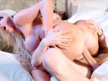Nicolette Shea lets her cheating wife couples fantasies out on monster cock