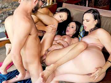 Ariella Ferrera, Dana DeArmond and Reagan Foxx in My Friend's Hot Mom