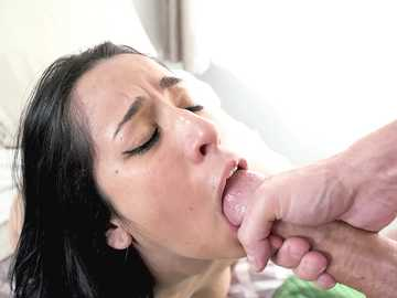 Nina Lopez Sucks A Dick Dry